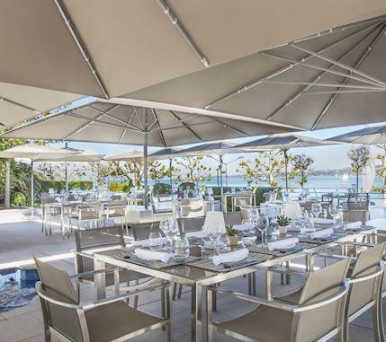 Restaurant umami en plein air