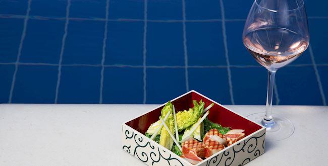 Pool bar menu